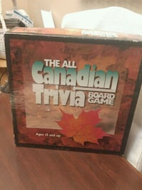 The All Canadian Trivia board game box Brampton, L6T 3J7