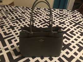 Brand new light gray Coach Leather Purse $375 obo