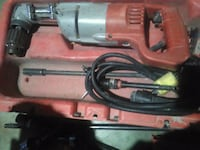 red and gray corded power tool Palm Springs, 92262