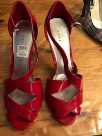 Red fioni high heels