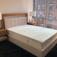 Queen size bed + 2 night stands