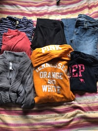 Womans/juniors lot name brands american eagle 344 mi