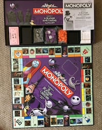 Collector's Edition Monopoly Nightmare Before  Calgary, T2R