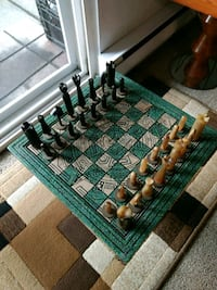 Very rare chess set Victoria, V9A 6A6