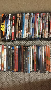 assorted DVD movie case lot Fort Myers, 33971