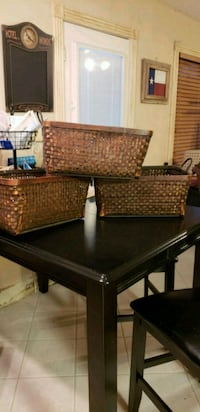 brown wooden table with chairs Angleton, 77515