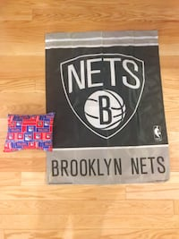 NY sports bundle - banner and pillow New York