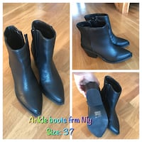 Black ankle boots Oslo, 1272