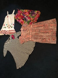 Girls size 4-5 dresses 4 lot or each
