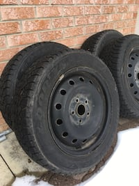 5x112 Winter rims & tires  Caledon, L7E 0B1