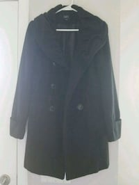 black button-up coat Calgary, T2J 6A9