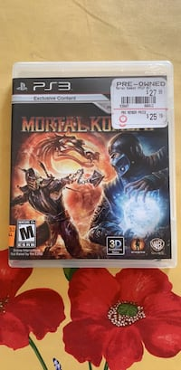 Mortal Kombat (PS3) Washington, 20016
