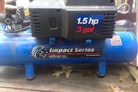 Blue and gray impact series 1.5 hp 3 gal air compressor Stafford, 22556
