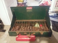 green and red Coleman gas grill Lindsay, K9V 2W2
