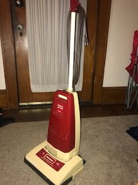 red and white Dirt Devil upright vacuum cleaner Roanoke, 24014