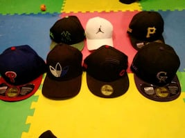 Cap $30 each all personalized with Jazie