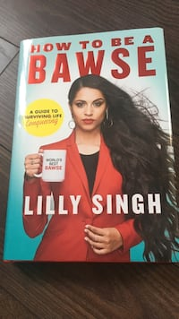 How toy be a Bawse book by Lilly Singh Kirkland, H9H 3R7