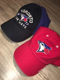 Blue jays basketball hats-Great condition adjustable London, N5W 1E8