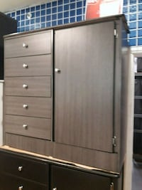 brown wooden cabinet with drawer Long Beach, 90805