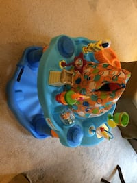 baby's blue and yellow activity saucer Stafford, 22556