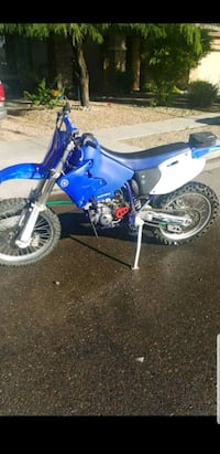 blue and white motocross dirt bike Tolleson, 85353