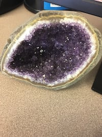 Genuine amethyst - bought for $250 Reston, 20190