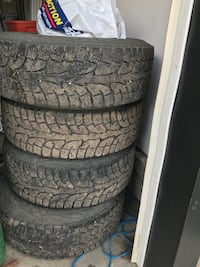 Chevy winter tires  Morinville, T8R 0C2