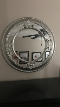 round silver-colored framed mirror Cedar City, 84720