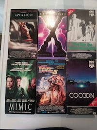 """VHS Movies.  """"Sorry Not Negotiable"""""""