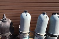 Swimming pool filters a variety of them different prices different