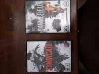 two Sony PS3 game cases 781 km