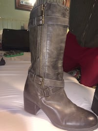 Franco Sarto (size 10) leather boots! (Never worn).