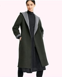 UNIQLO Hooded Wool Coat