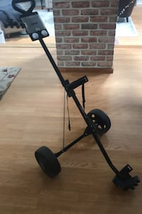 Golf two-wheel collapsible  push cart