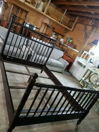 beautiful bombay queen size bed frame Brampton, L6X