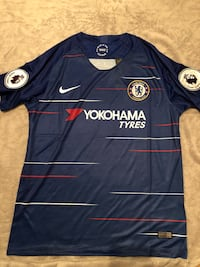 2018 2019 Chelsea FC Official Nike Soccer Jersey. Home Version Mesa