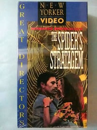 The Spiders Statagem vhs Baltimore