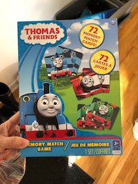 Thomas & Friends toy box Montréal, H8N 1K7