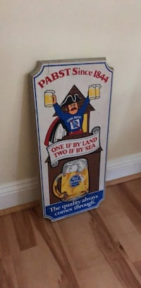Vintage Pabst Sign Sterling, 20164