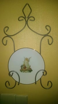 Angel plate with holder Jackson, 08527