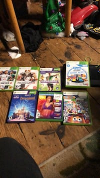 Assorted xbox 360 games and Xbox one. Syracuse, 13204