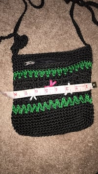 Black and green knitted textile Rockville, 20850