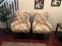 2 Accent chairs  Fontana, 92336
