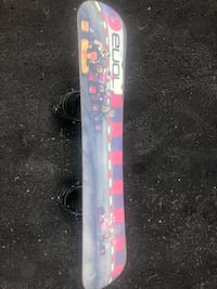 blue and pink snowboard Whitby