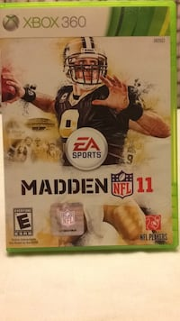 Madden nfl 11 xbox 360 game case Orchard Hills, 21742