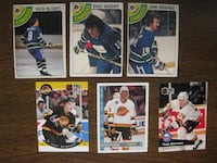 Vancouver Canucks hockey cards VANCOUVER