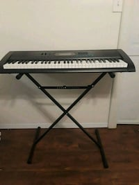 Keyboard and stand  West Islip