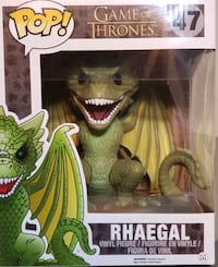 "RHAEGAL (Dragon) ""Game of Thrones"" Oversized 6"" Funko POP! TELEVISION  Massachusetts"