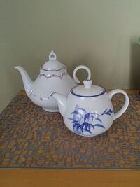 white and blue ceramic teapot 782 km