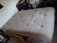 Two piece futon frame with optional matress (full) Alexandria